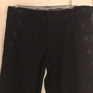 Tommy Hilfiger Dark Denim Sailor Style Trousers
